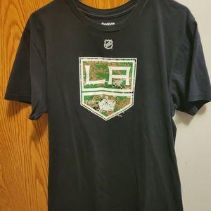 Los Angeles Kings Dustin Brown shirt L Reebok